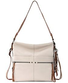 Women's Ashland Leather Bucket Hobo Bag