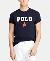 b9a73073 Polo Ralph Lauren Men's Big & Tall Classic-Fit Graphic Americana T-Shirt