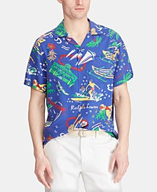 Men's Classic-Fit Print Shirt