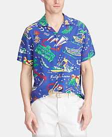 Polo Ralph Lauren Men's Classic-Fit Print Shirt