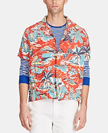 Men's Classic-Fit Tropical Shirt