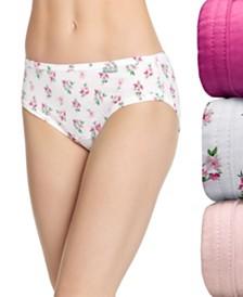 Jockey Elance Bikini 3 Pack 1481 1489 (Also available in plus sizes)