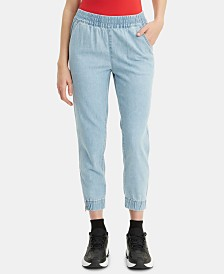 Levi's® Light-Wash Jean Joggers