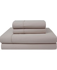 300 Thread Count Organic Cotton Queen Sheet Set