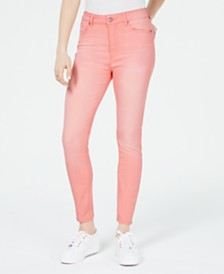 Celebrity Pink Juniors' Light Wash Skinny Ankle Jeans