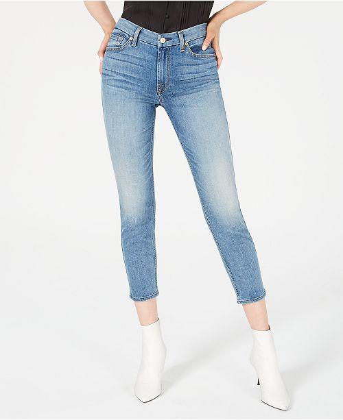 7 For All Mankind Kimmie Cropped Skinny Jeans