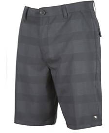 Rip Curl Men's Mirage Declassified Standard-Fit Stretch Plaid Hybrid Shorts