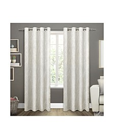Twig Insulated Blackout Grommet Top Curtain Panel Pair