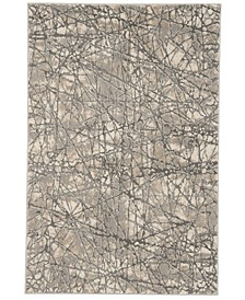 """Meadow Beige and Gray 3'3"""" x 5' Area Rug"""