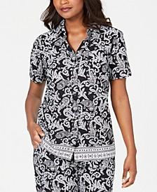 Paisley-Print Shirt, Created for Macy's