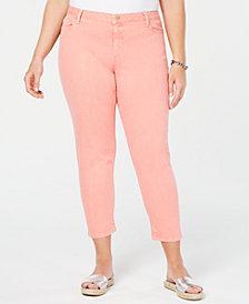 MICHAEL Michael Kors Plus Size Izzy Skinny Ankle Jeans