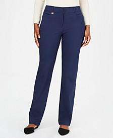 Long Length Tummy Control Curvy-Fit Pants, Created for Macy's