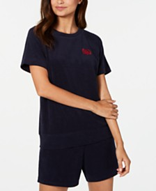 Tommy Hilfiger Embroidered Terrycloth Top, Created for Macy's