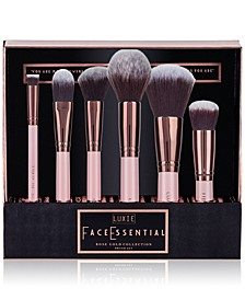 6-Pc. Rose Gold Face Essential Brush Set