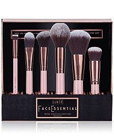 LUXIE 6-Pc. Rose Gold Face Essential Brush Set