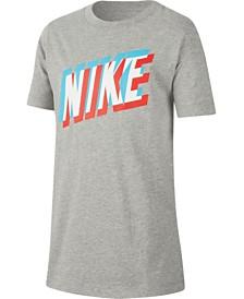 Nike Big Boys Logo-Print Cotton T-Shirt