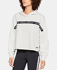Fleece Cropped Training Hoodie
