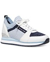 5cbf364a2ca MICHAEL Michael Kors Billie Knit Trainer Sneakers