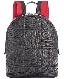 Gale Pebble Logo Quilt Backpack