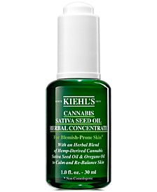 Cannabis Sativa Seed Oil Herbal Concentrate, 1-oz.