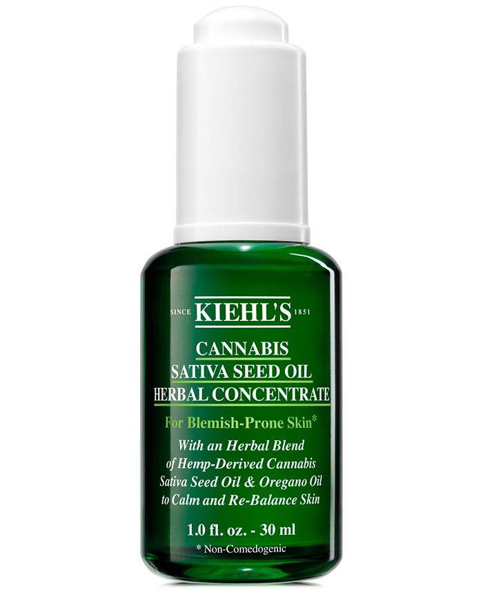 Kiehl's Since 1851 - Cannabis Sativa Seed Oil Herbal Concentrate, 1-oz.