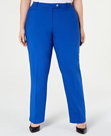 Calvin Klein Plus Size Trouser Pants