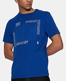 A|X Armani Exchange Men's Square Logo Graphic T-Shirt