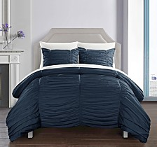 Chic Home Kaiah 5 Piece Twin X-Long Bed In a Bag Comforter Set