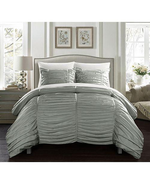 Kaiah 7 Piece King Bed In a Bag Comforter Set