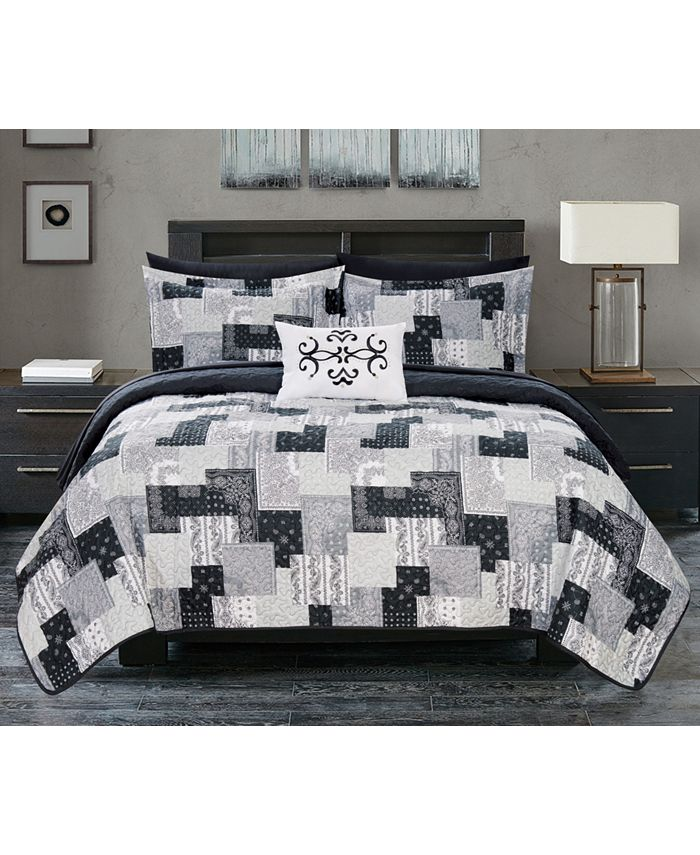 Chic Home - Eliana 8-Pc. Quilt Sets