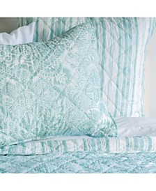 Liana Sea Glass Queen Quilt