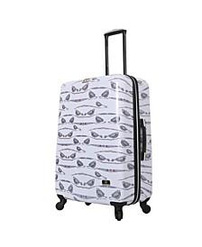 """Valerie Valerie Aubergine 28"""" Hardside Spinner Luggage"""