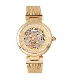 Empress Adelaide Automatic Gold Stainless Steel Watch 38mm