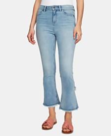 1.STATE Tulip-Hem Skinny Jeans