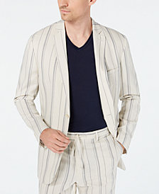 I.N.C. Men's Slim-Fit Striped Blazer, Created for Macy's