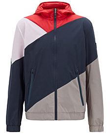 BOSS Men's Reversible Water-Repellent Jacket