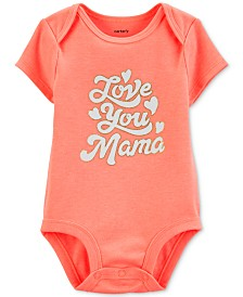 Carter's Baby Girls Cotton Graphic-Print Bodysuit