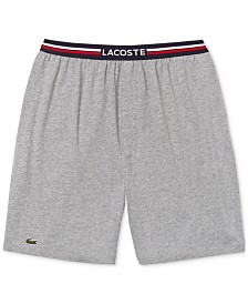 Lacoste Men's Knit Pajama Shorts