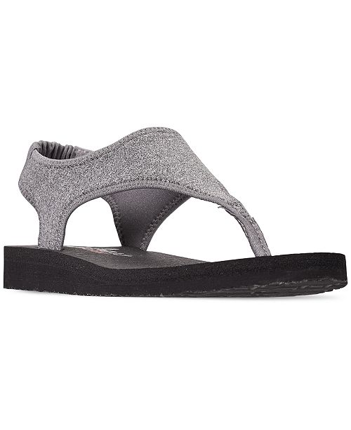 Skechers Women's Meditation - Flow Nation Flip Flop Thong Sandals from Finish Line
