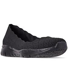 Skechers Women's Seager - Infield Walking Sneakers from Finish Line