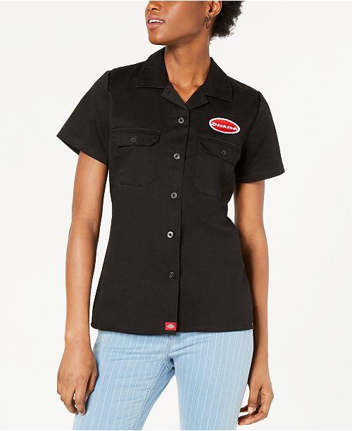 Dickies Short-Sleeve Graphic Work Shirt