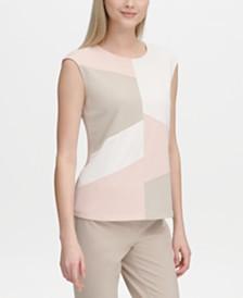 Calvin Klein Colorblocked Top