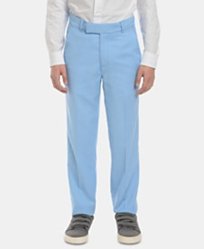 Calvin Klein Big Boys Pindot Suit Pants