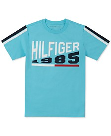 Tommy Hilfiger Big Boys Thames Logo T-Shirt