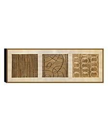 Decor Mondrain 1 Piece Framed Canvas Wall Art Hieroglyphs
