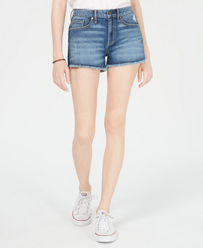 American Rag Juniors' Mid-Rise Jean Shorts, Created for Macy's