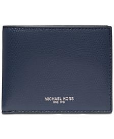Michael Kors Men's Andy Slim Leather Billfold Wallet