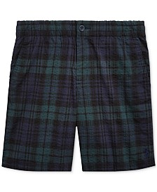 Polo Ralph Lauren Big Boys Polo Prepster Seersucker Shorts