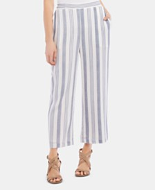 Karen Kane Striped Pull-On Pants