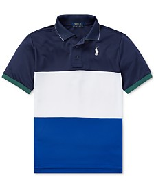 Polo Ralph Lauren Big Boys Tech Mesh Polo Shirt